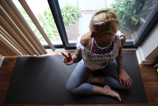 Yoga and Politics - I'm With Her